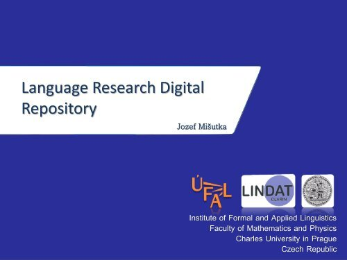 Language Research Digital Repository