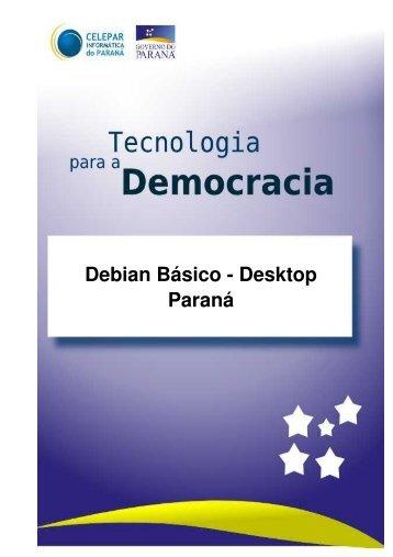 Apostila DEBIAN - Biblioteca Virtual Celepar