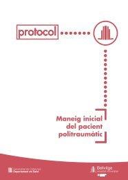 Maneig inicial del pacient politraumàtic - Hospital Universitari de ...