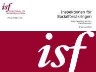 Inspektionen för Socialförsäkringen