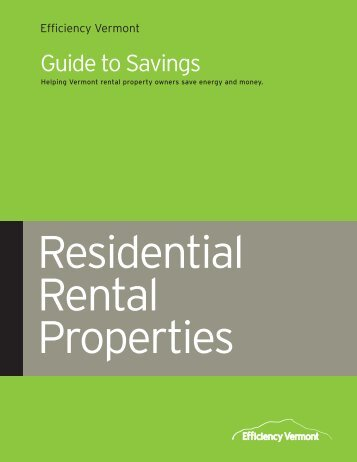 rental property business plan