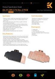 EK-FC285 GTX Rev.2 PCB - EKWB