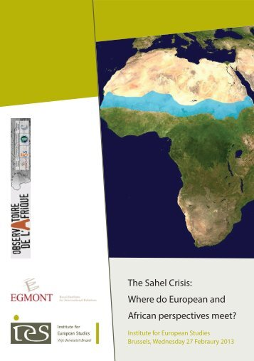 The Sahel Crisis: Where do European and African perspectives meet?