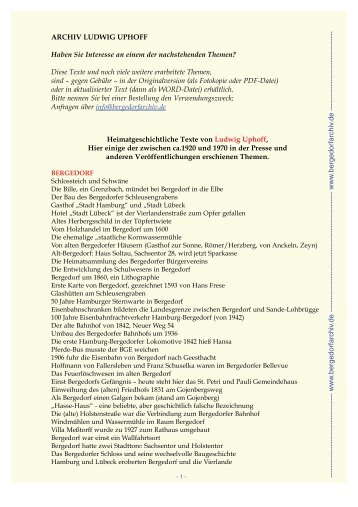 PDF-Date - Archiv Ludwig Uphoff