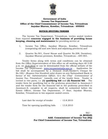 Manual office procedure income tax department - Office of the government chief information officer ...