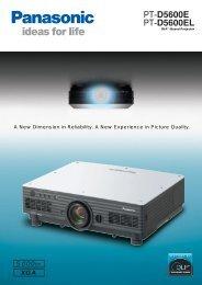 PT-D5600E PT-D5600EL - HCinema