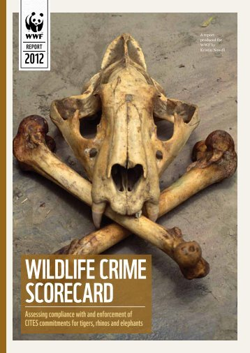 WWF Wildlife Crime Scorecard Report