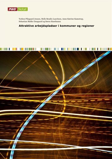 Attraktive arbejdspladser i kommuner og regioner