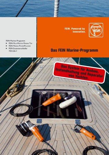 Das FEIN Marine-Programm - Adolf Richter GmbH