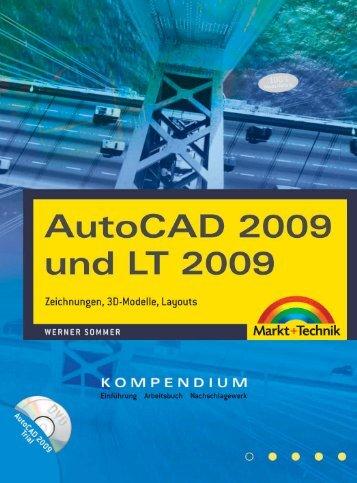 AutoCAD 2009 und LT 2009  - *ISBN 978-3-8272 ...