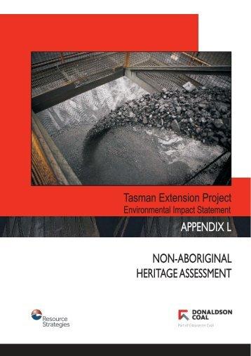 Appendix L - Non-Aboriginal Heritage Assessment