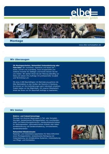 Montage (pdf) - Elbe-Werkstätten GmbH