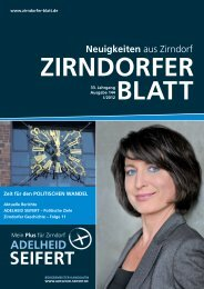 SEIFERT - Das Zirndorfer Blatt