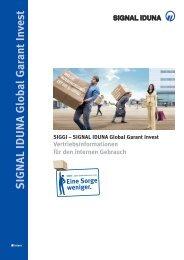 SIGNAL IDUNA Global Garant Invest - Vdk-online.de