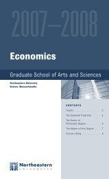 1115 NEU-Econ-bh r2 - Department of Economics - Northeastern ...