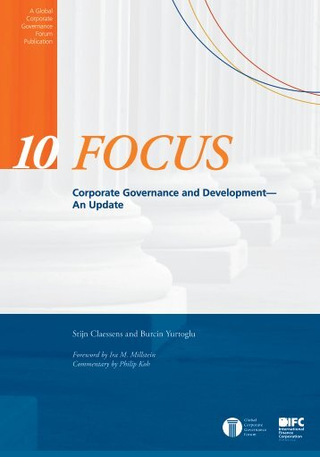 Corporate Governance and Development— An Update - Global ...
