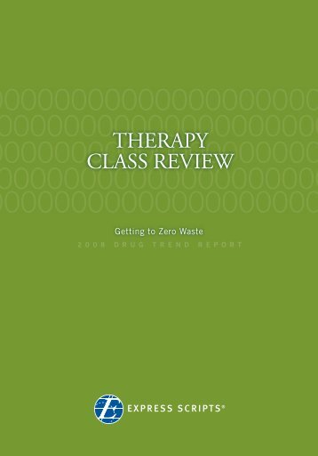 THERAPY CLASS REVIEW - Express Scripts