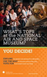 What's Tops? at the National Air and Space Museum