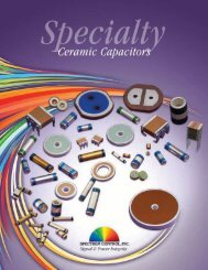 Advanced Ceramics Catalog - Spectrum Control