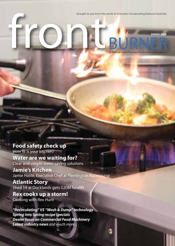 Download Front Burner Issue - Spring 2008 - Comcater