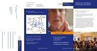 Palliativ Care und Schmerz bei Menschen mit Demenz - Berger Runde