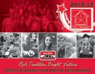 to view the 2012-13 School Calendar and Parent Information ...