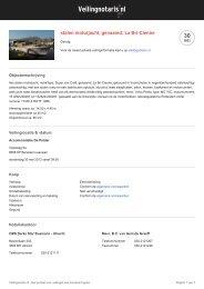 stalen motorjacht, genaamd: La Bri-Cienne op ... - BVA Auctions