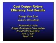 motor - Copper Development Association