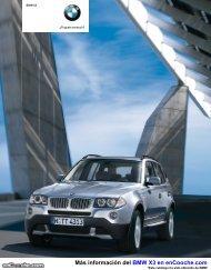 Catálogo del BMW X3 - enCooche.com