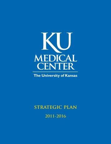 StRAtEGic PlAN - University of Kansas Medical Center
