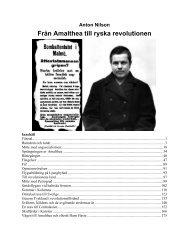Från Amalthea till ryska revolutionen - Marxistarkiv