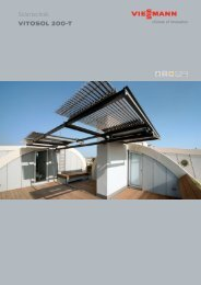 Solartechnik VITOSOL 200-T