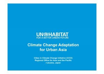 UN Habitat - The Rockefeller Foundation