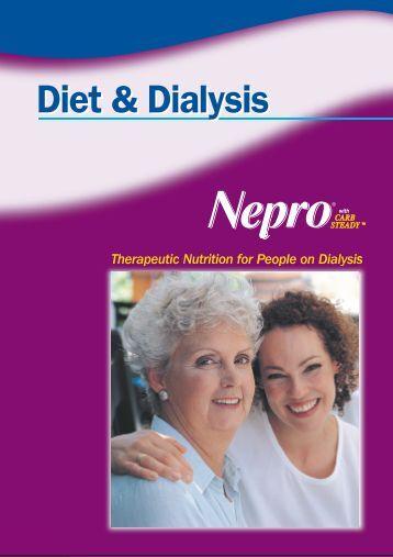 """Diet and Dialysis"" Patient Education Booklet - Abbott Nutrition"