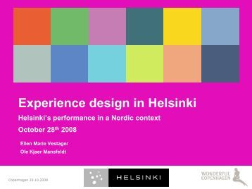 Experience Design in Helsinki -slideshow 28.10.2008, pdf-file, size ...