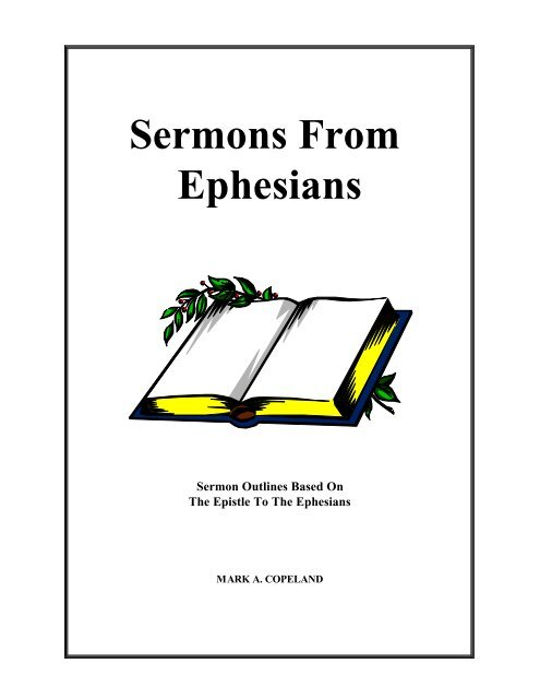 Sermons From Ephesians - Executable Outlines