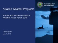 Aviation Weather Programs - RAL