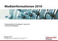 Mediakit DE 2010 - Isler Annoncen AG