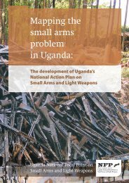 Mapping the small arms problem in Uganda: - Saferworld