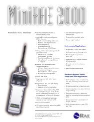 MiniRAE 2000 Portable VOC Monitor