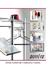 OFFICE FURNITURE • DISPLAYS • RACKS - Exitus
