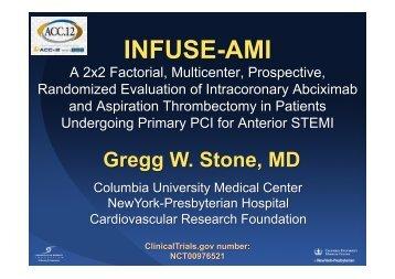 INFUSE-AMI: cMRI at 30 days