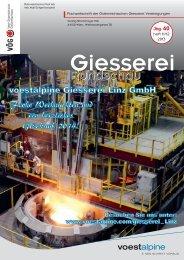 Heft 11/12 - Verein österreichischer Gießereifachleute