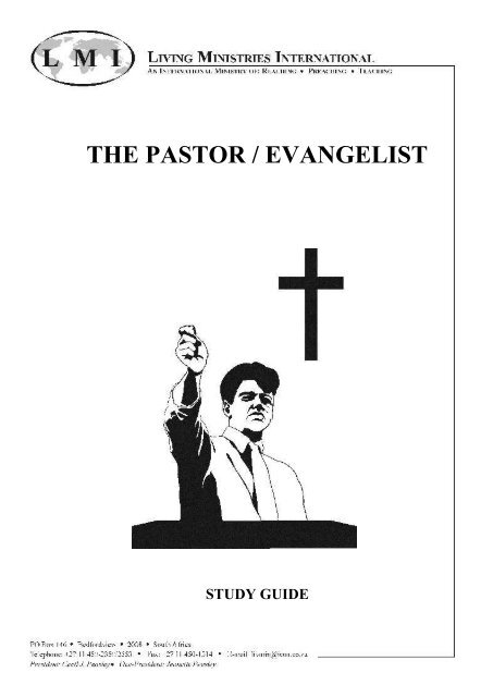 The Pastor-Evangelist - Study Guide - Free Bible Commentary