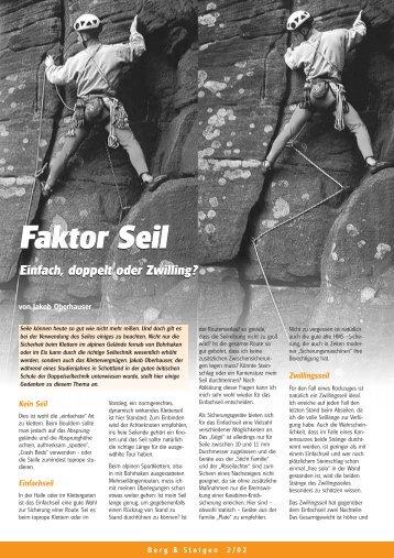 Faktor Seil Faktor Seil - Bergundsteigen