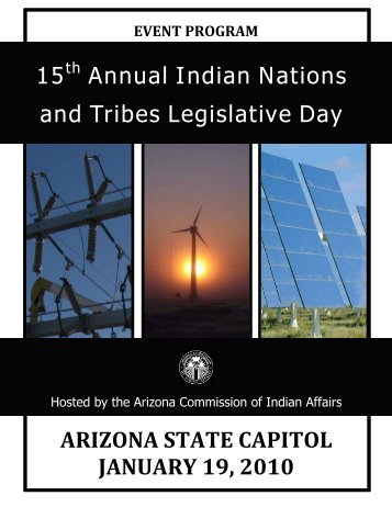 15th Annual Indian Nations and Tribes Legislative Day - Arizona ...