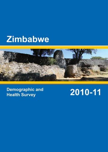 Zimbabwe Demographic and Health Survey 2010-11 - SAfAIDS