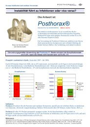 Posthorax® - gd medical AG