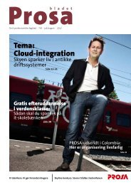 Tema: Cloud-integration - Prosa