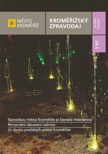 Vydání - 12 / 2010 - Město Kroměříž